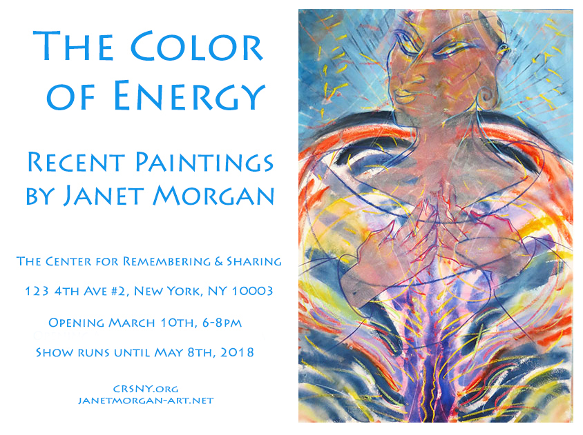 color of energy show janet morgan